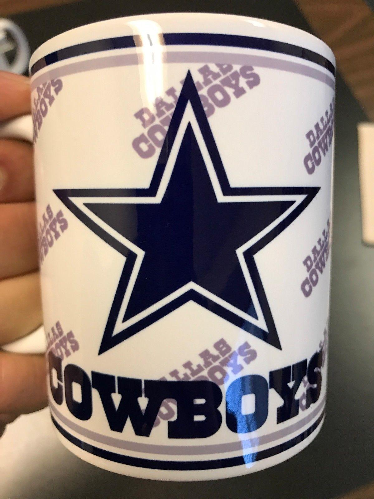 e46f628a Personalized 11oz Dallas Cowboys Coffee Mug