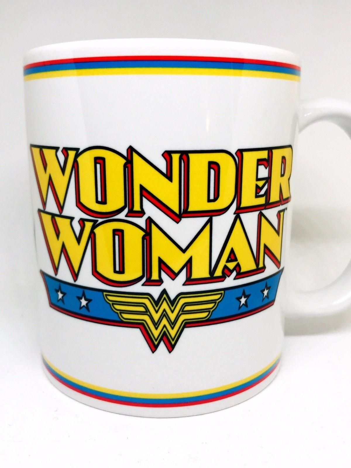 Wonder Woman Classic Movie Personalised Printed Coffee Tea Drinks Mug Cup Gift