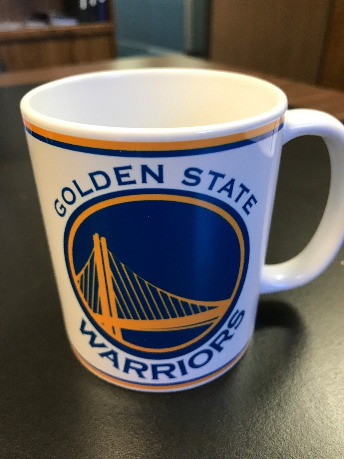 06b8977834f Personalized Golden State Warriors Coffee Mug